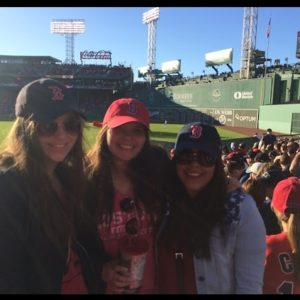 Boston, baby!