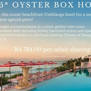 Amazing Oyster Box Special!