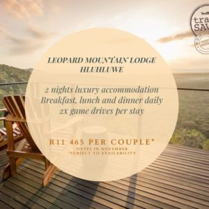 Weekend Break: Leopard Mountain Lodge