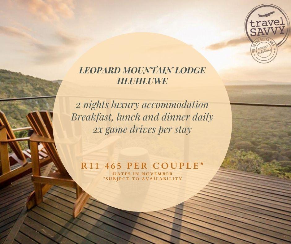 Weekend Break: Leopard Mountain Lodge