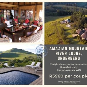 Romance Collection: Amazian Mountain River Lodge, Underberg, KwaZulu Natal