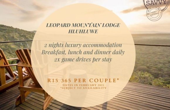 Romance Collection: Leopard Mountain Lodge, Hluhluwe, KwaZulu Natal